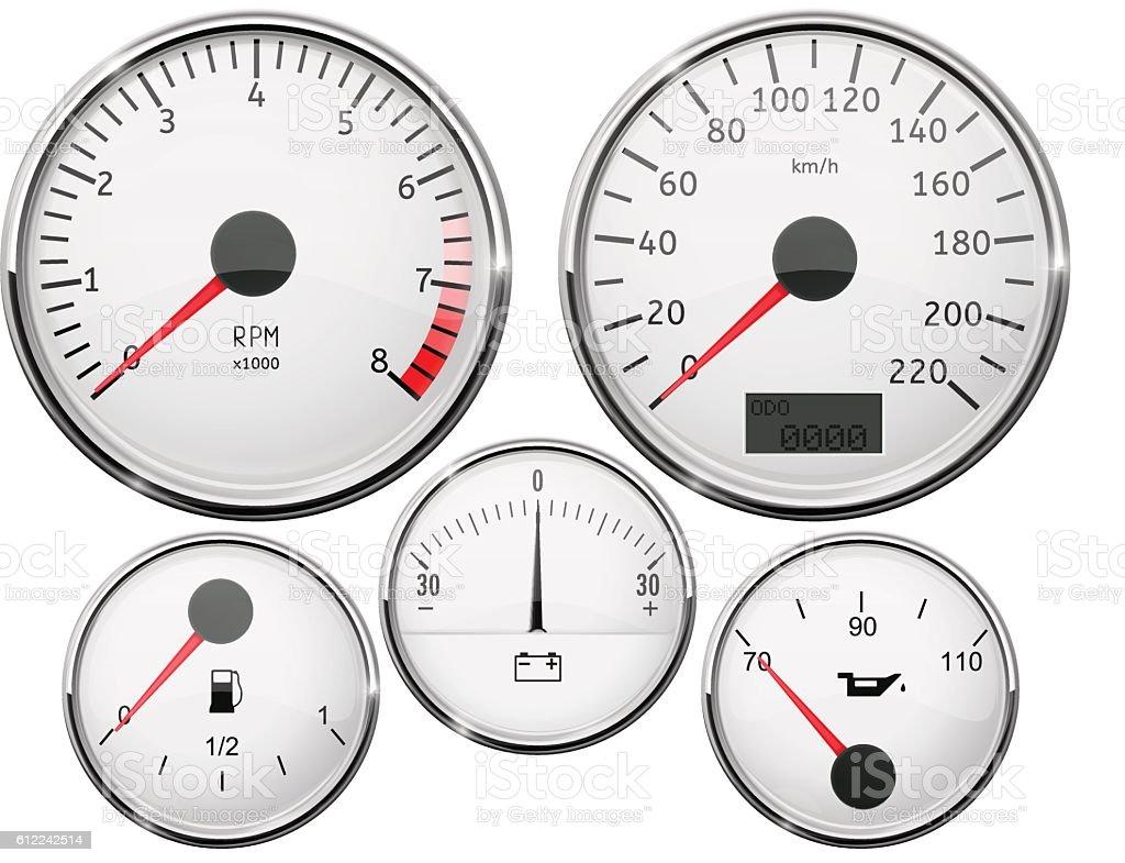 car dashboard speedometer tachometer fuel gauge. Black Bedroom Furniture Sets. Home Design Ideas