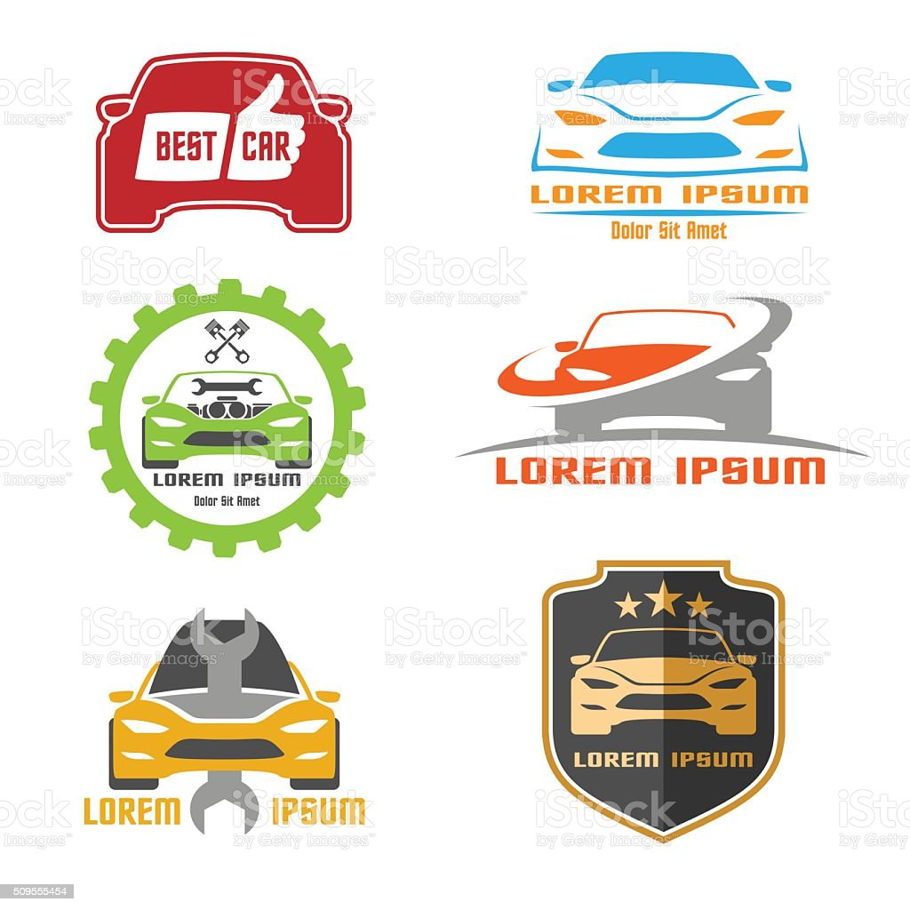 Car design vector art illustration