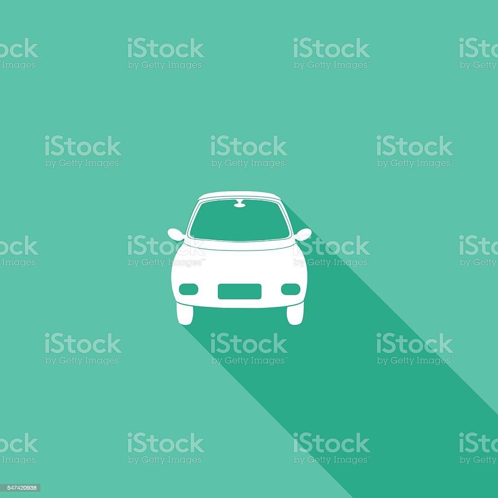 Car Flat Design Icons vector art illustration