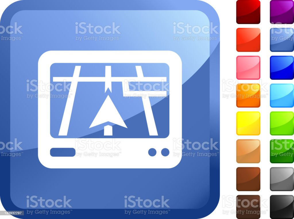car GPS internet royalty free vector art royalty-free stock vector art