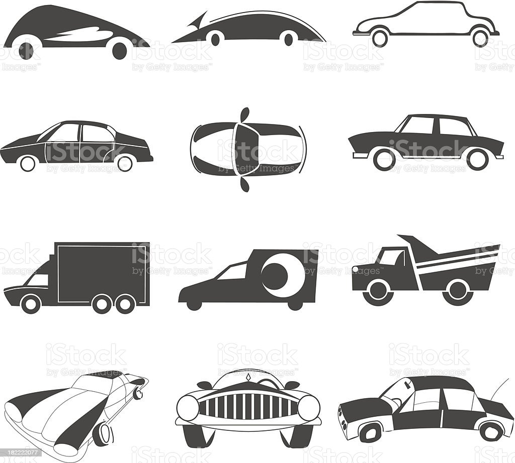 car icon royalty-free stock vector art