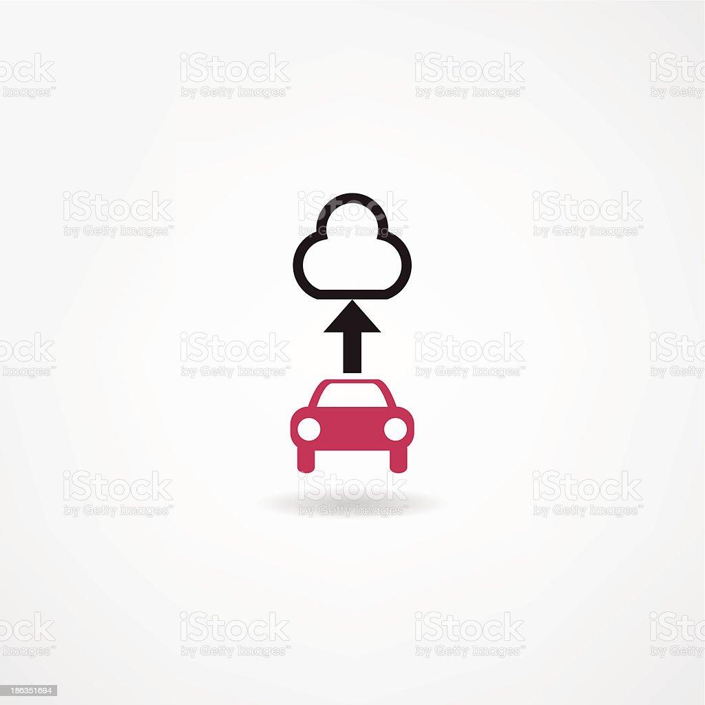 car icon royalty-free stock vector art