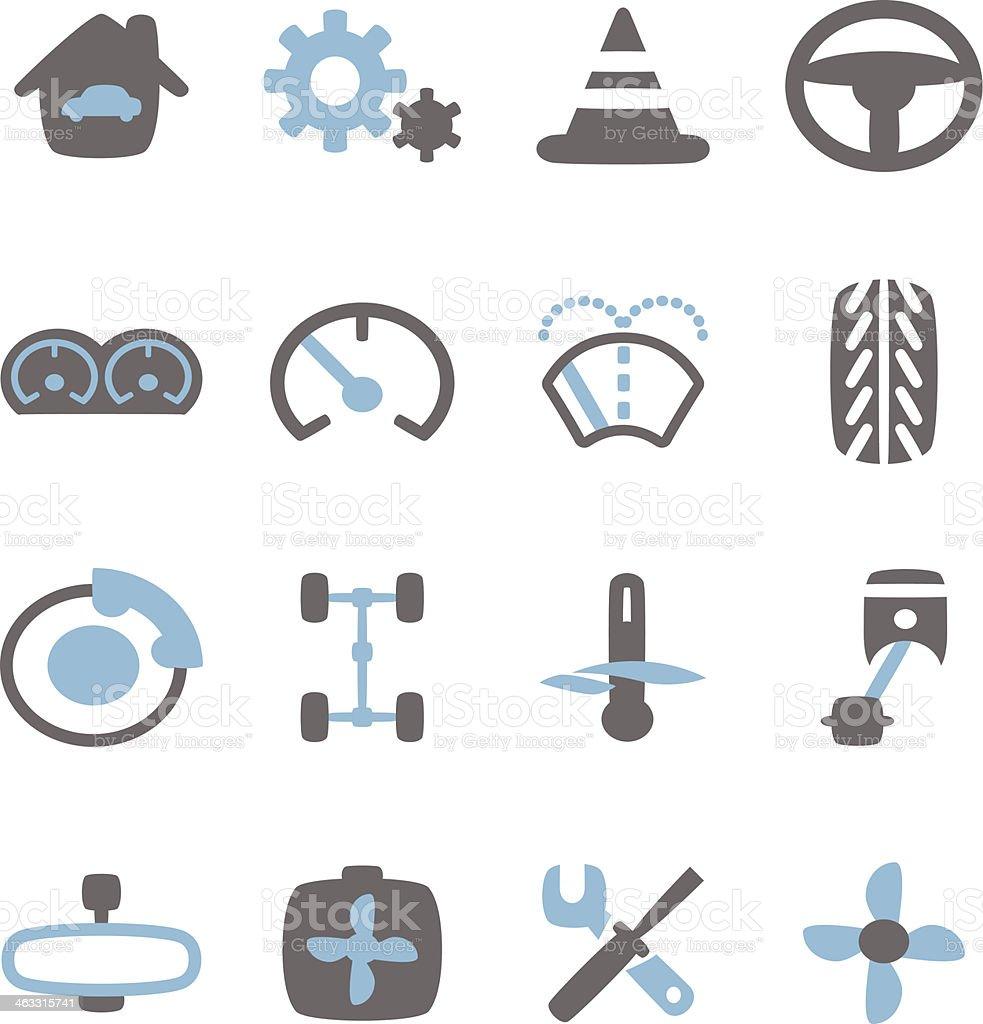 Car Icon vector art illustration