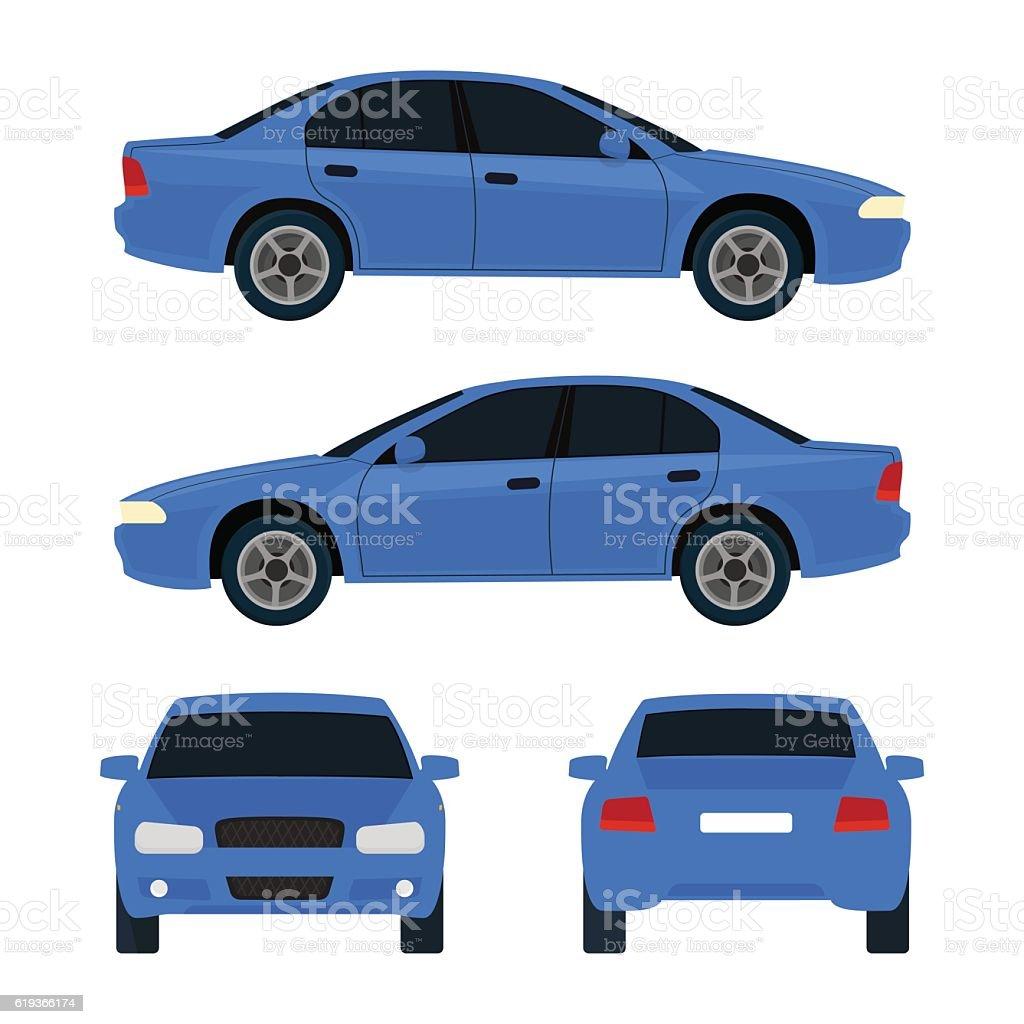 Car illustration vector art illustration