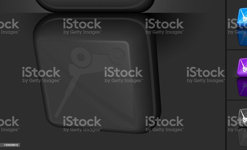 Design of car jack - Car Jack 3d Button Design Royalty Free Stock Vector Art