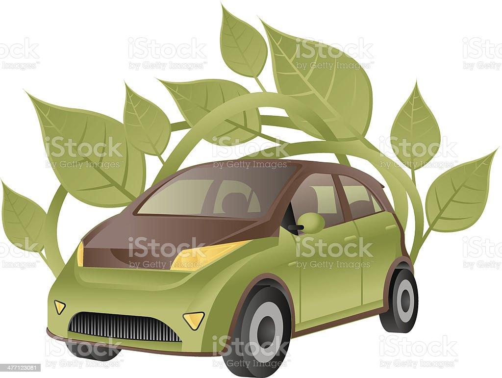 Car Leaves C royalty-free stock vector art