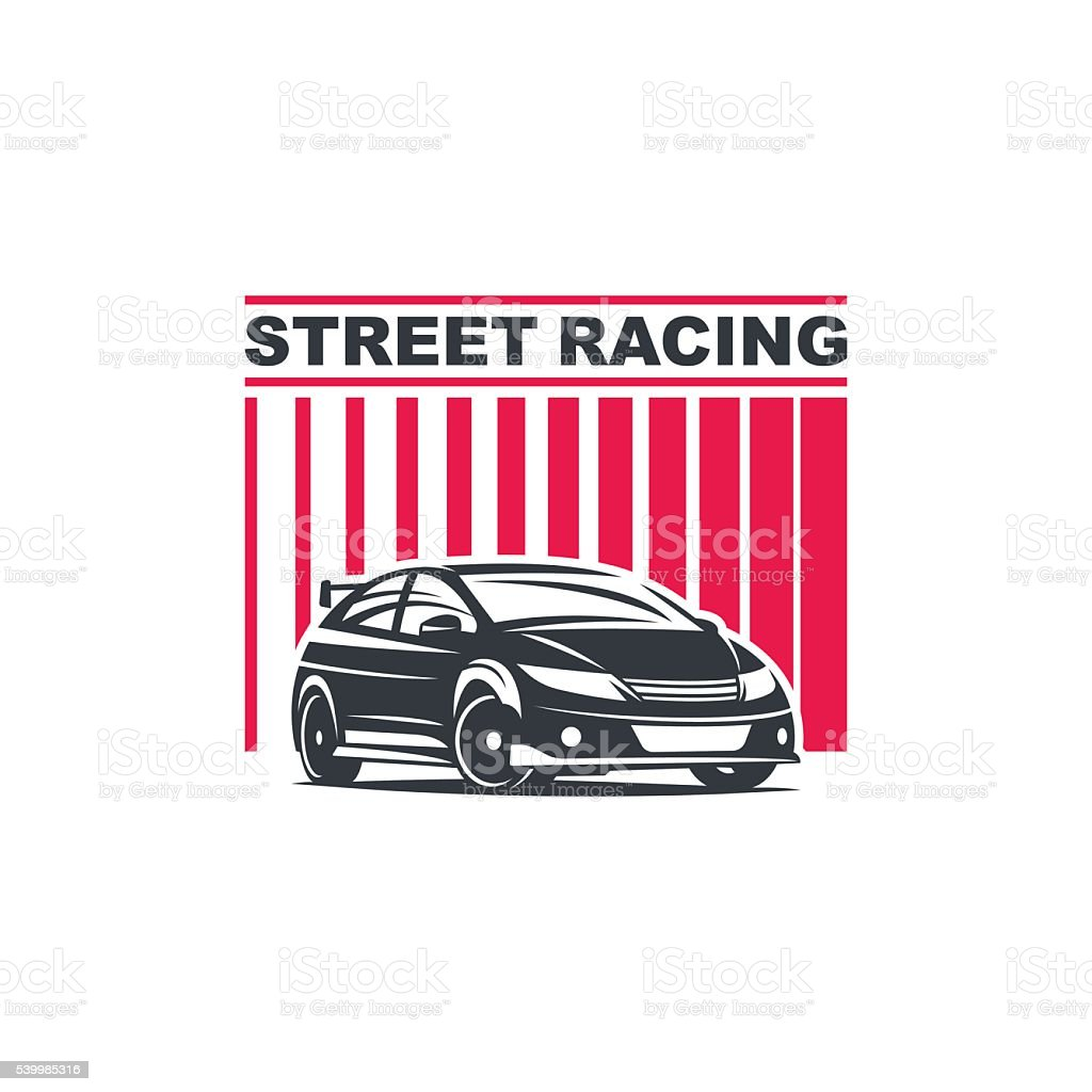 car logo template vector art illustration