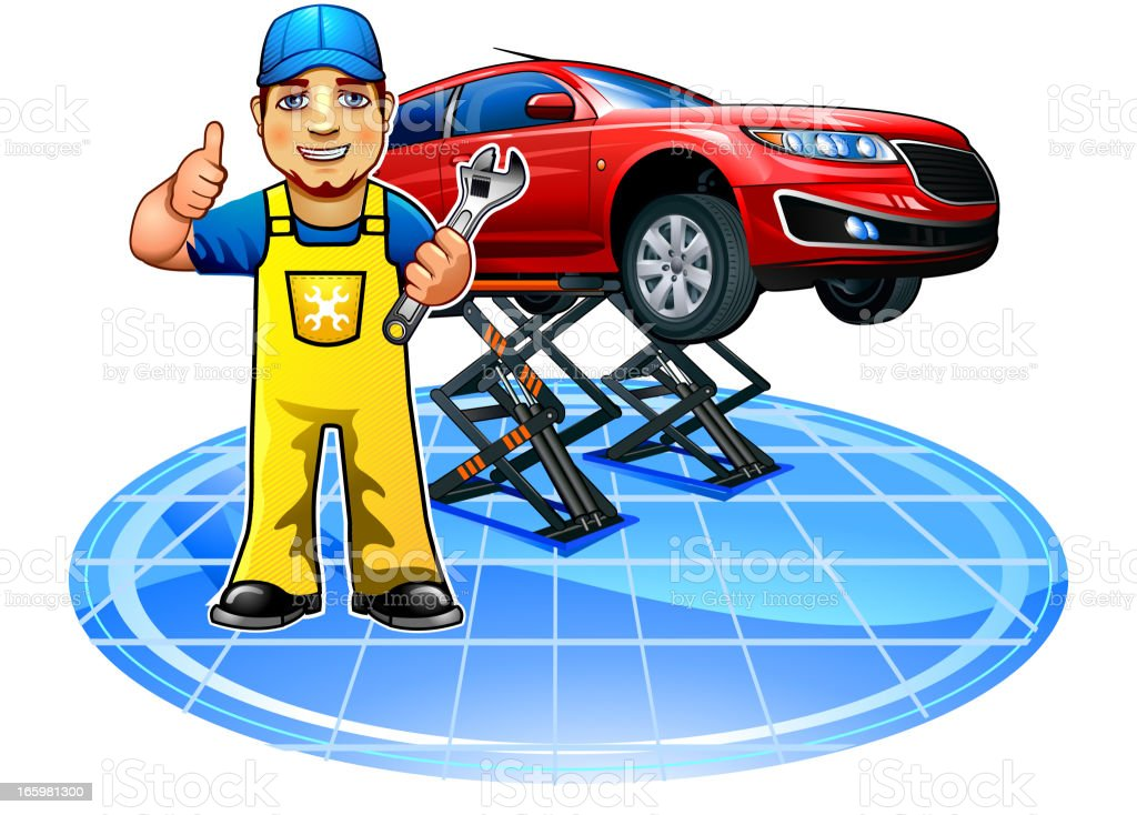 Design car repair workshop - Auto Repair Shop Working Workshop Adult Auto Mechanic