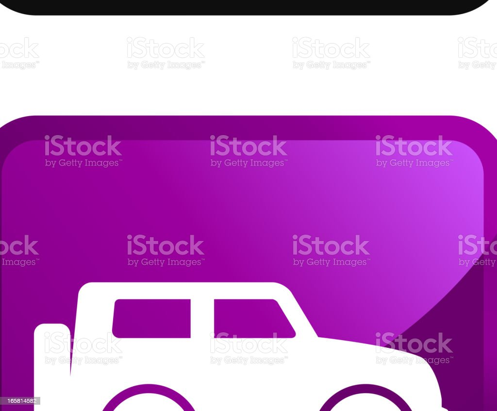 Car Rental Choices royalty free vector icon set stickers royalty-free stock vector art