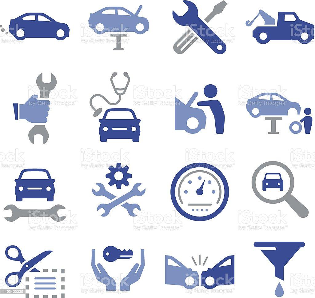 Car Repair Icons - Pro Series vector art illustration