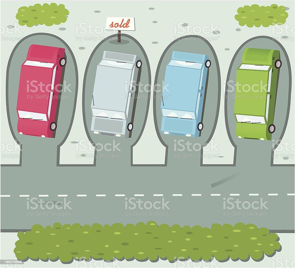 Car Sale royalty-free stock vector art