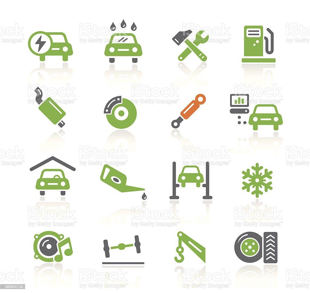 Car Service Icons | Spring Series vector art illustration