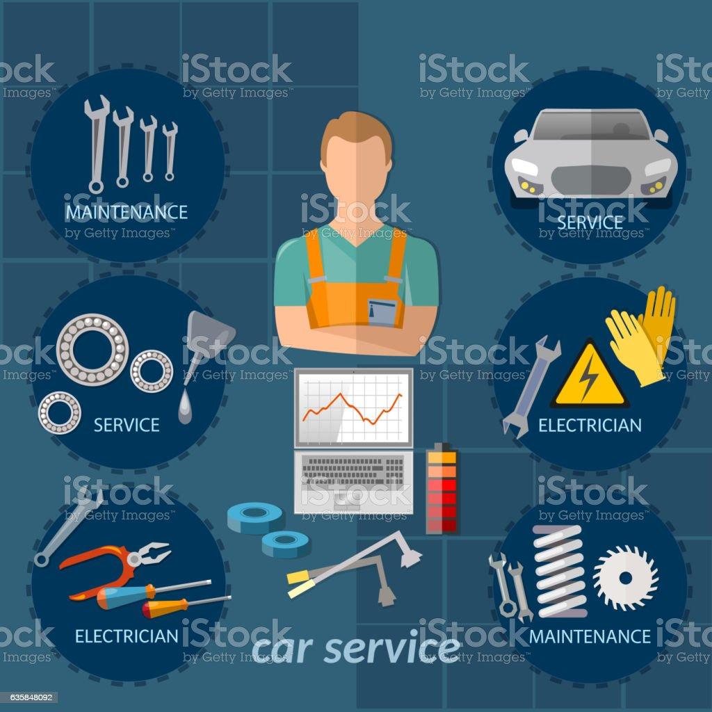 Design car repair workshop - Auto Repair Shop Workshop Adult Auto Mechanic Ball Bearing