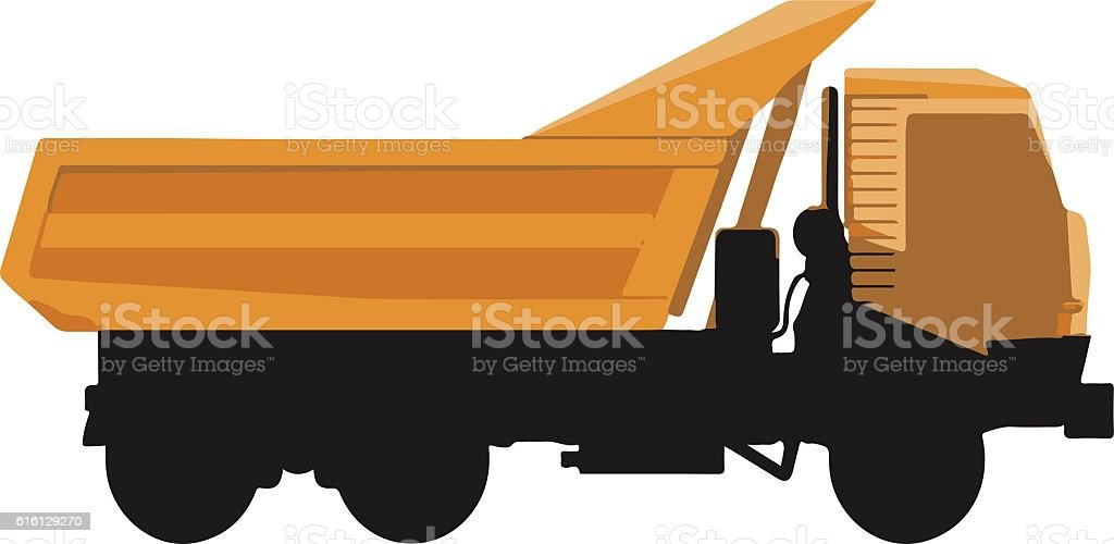 Car truck icon vector art illustration