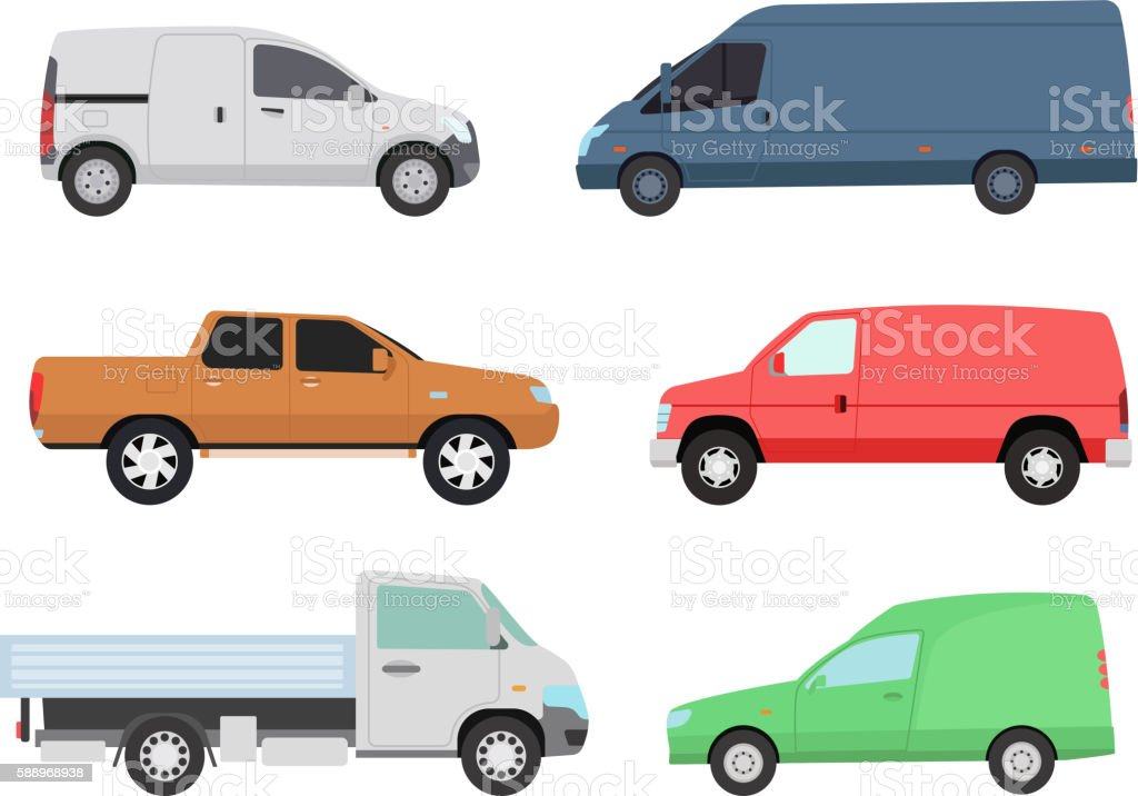 Car vechicle transport isolated vector vector art illustration