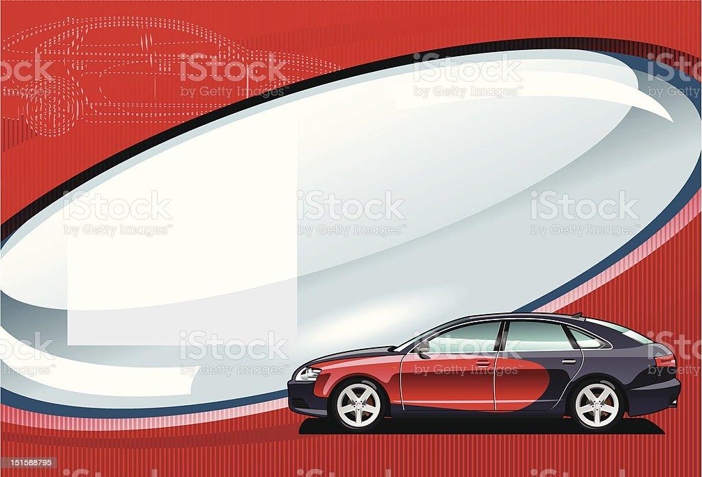 car - vector illustration. royalty-free stock vector art