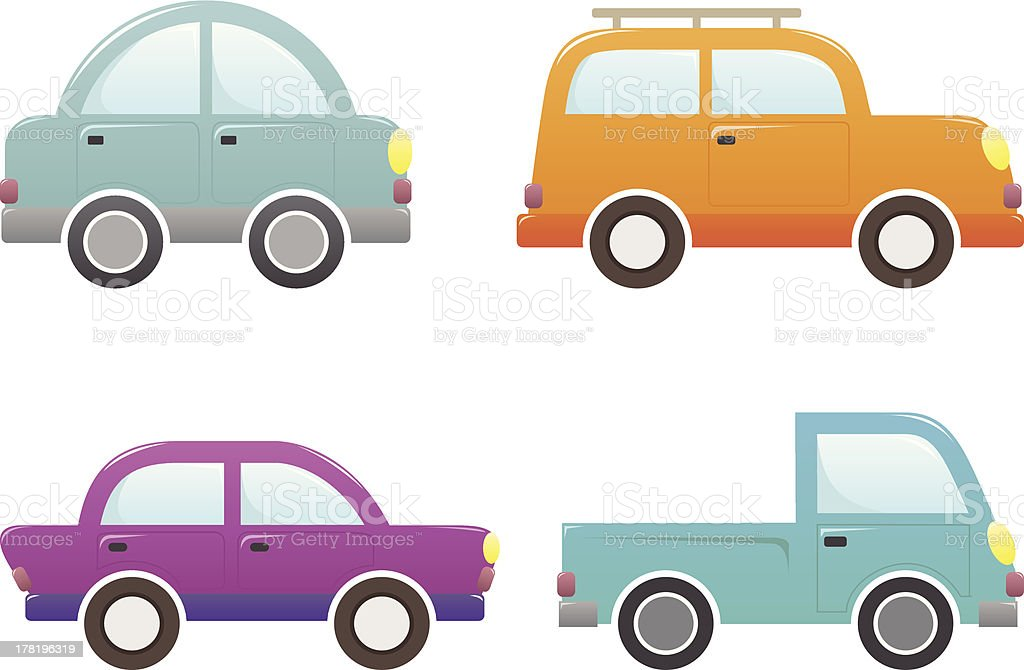 Car Vector Set royalty-free stock vector art