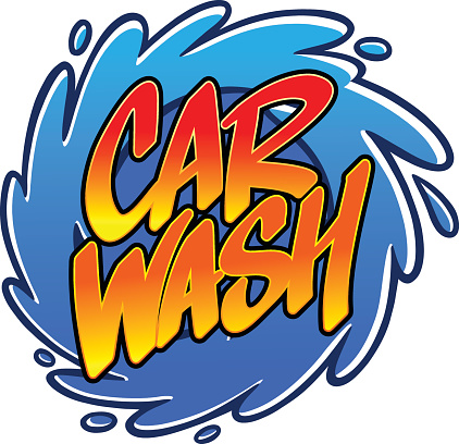 Clipart Washing A Car