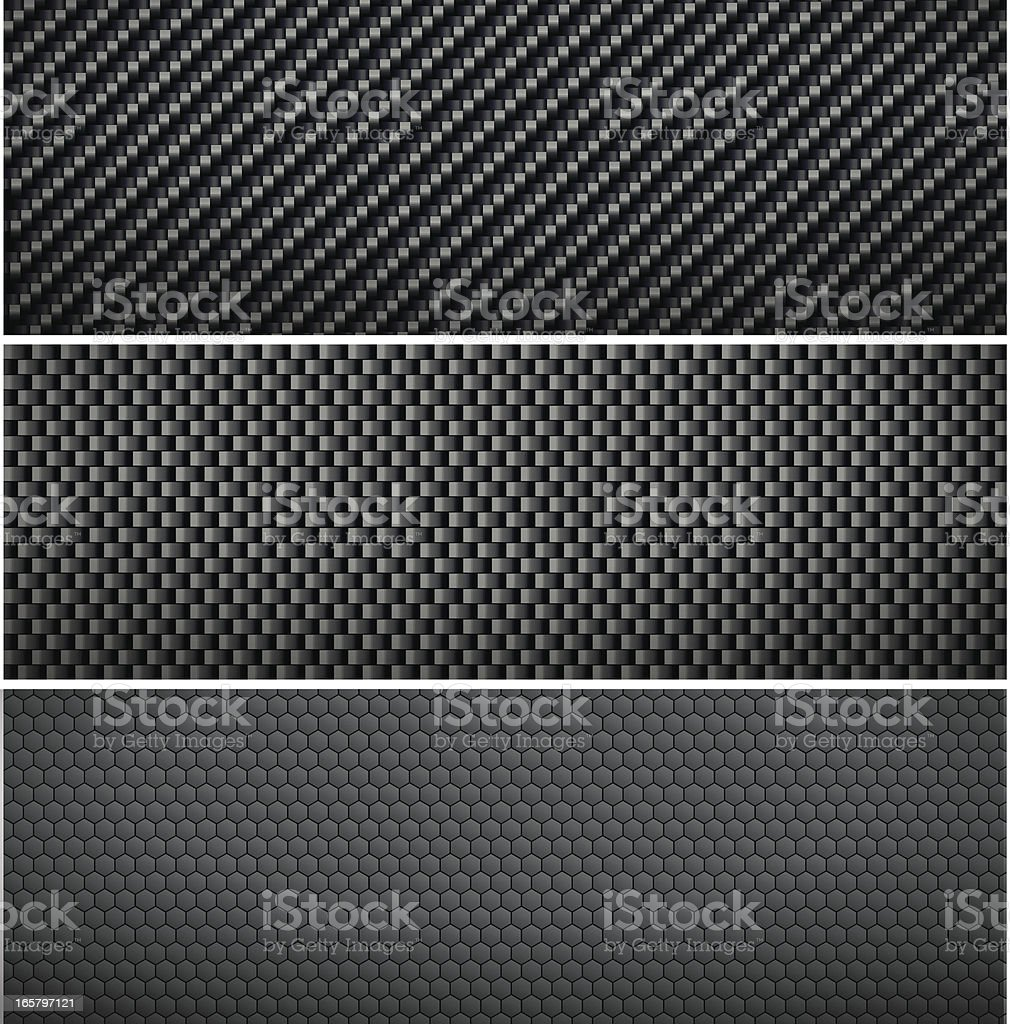 Carbon background royalty-free stock vector art