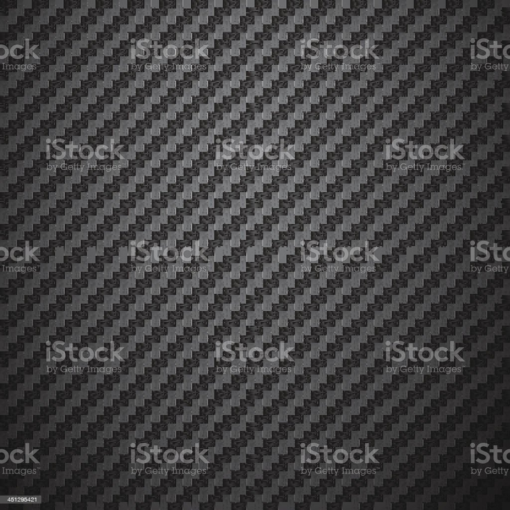 Carbon Fiber Background vector art illustration