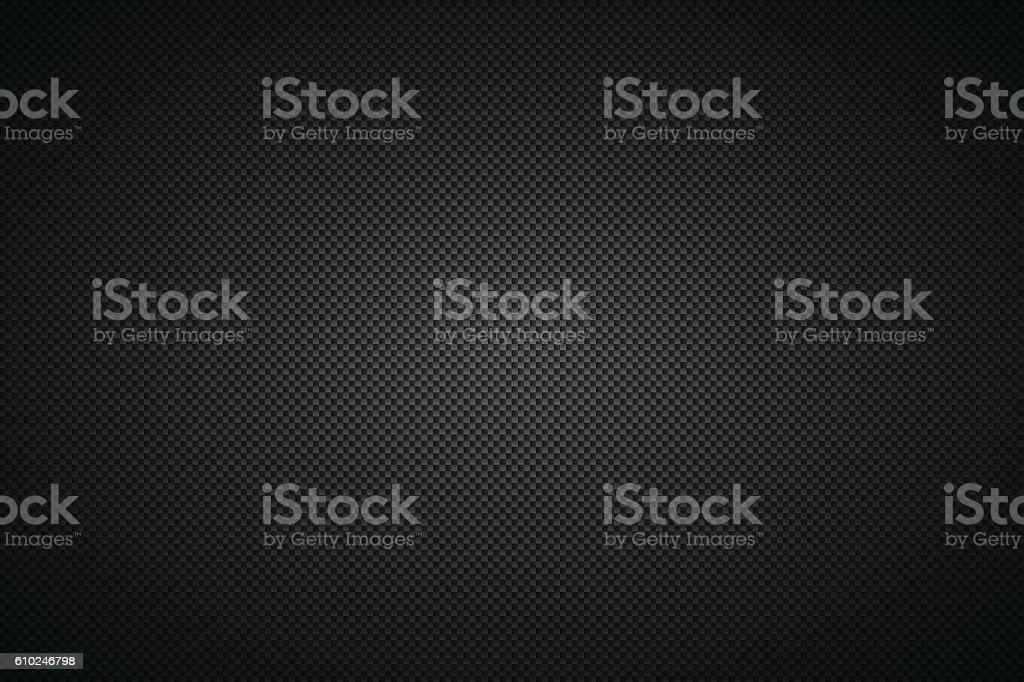 Carbon Fiber Texture - Background vector art illustration