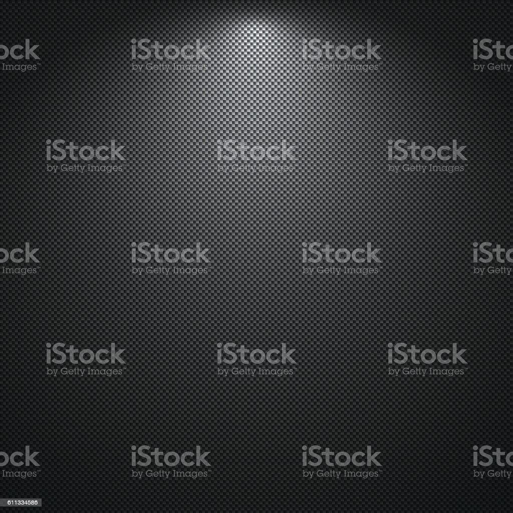 Carbon Fiber Texture - Background vector art illustration