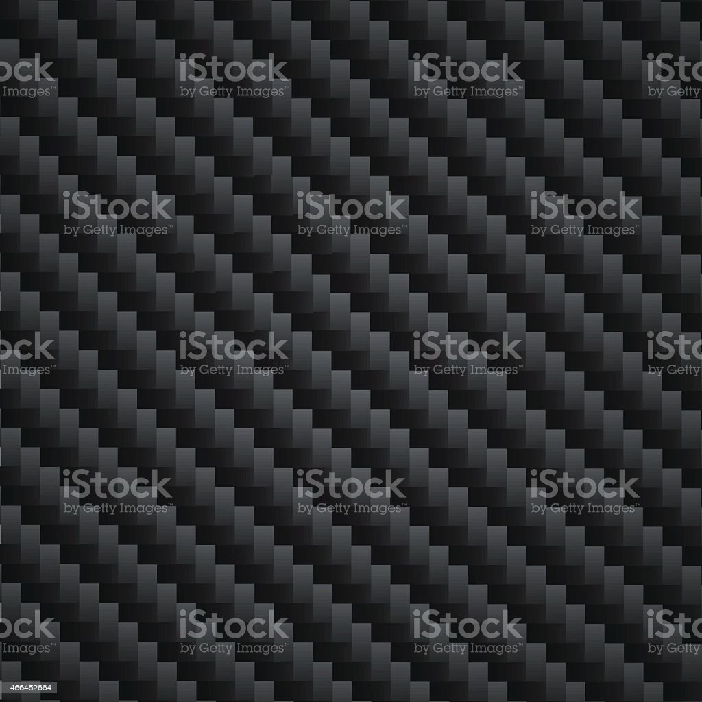 Carbon Kevlar black vector art illustration