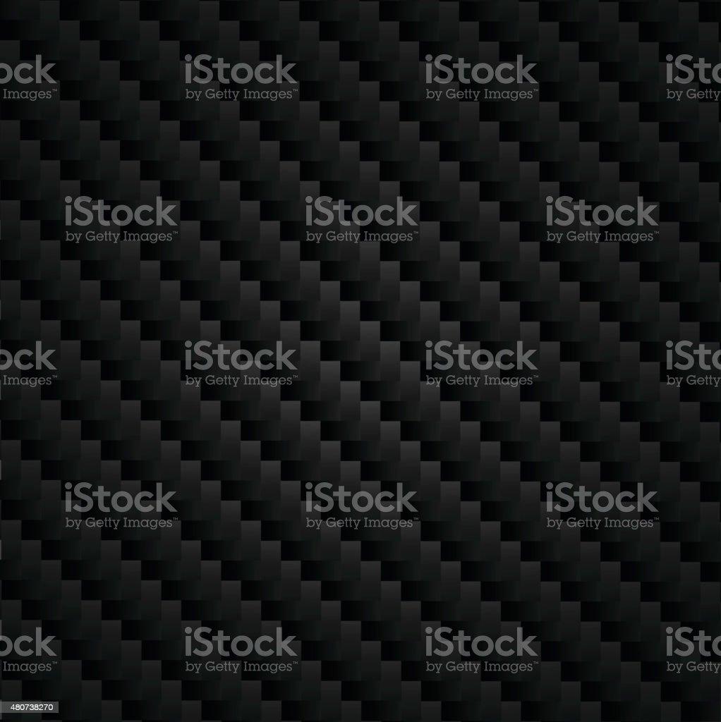 Carbon Kevlar super black vector art illustration