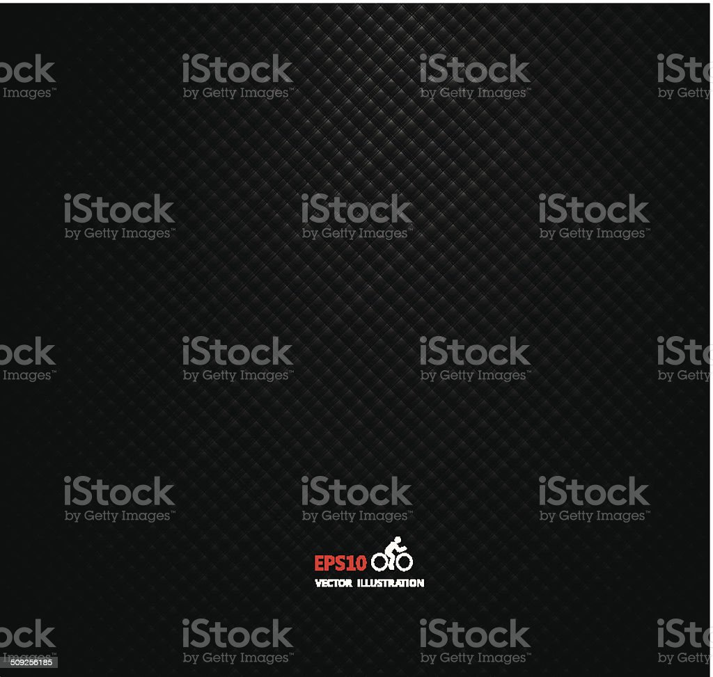Carbon metallic background vector art illustration
