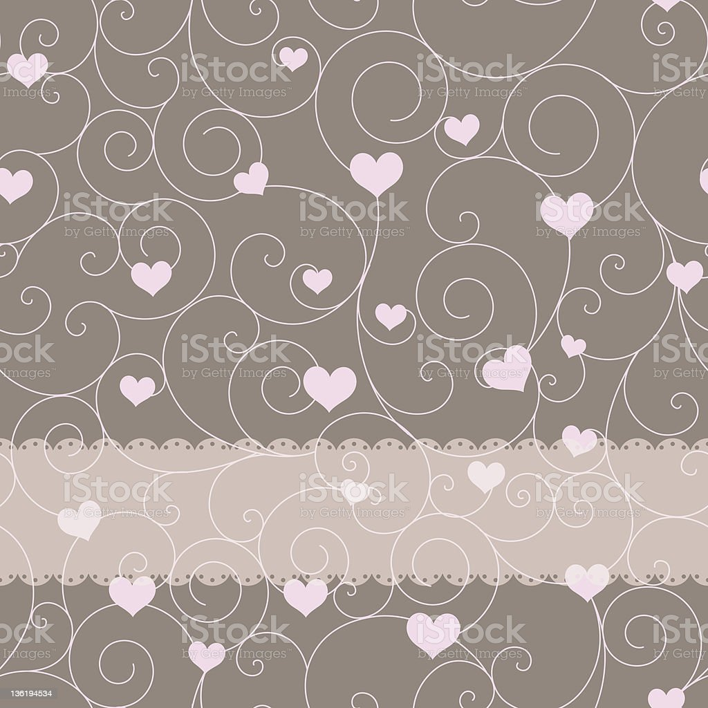 card design for wedding or valentine's day royalty-free stock vector art