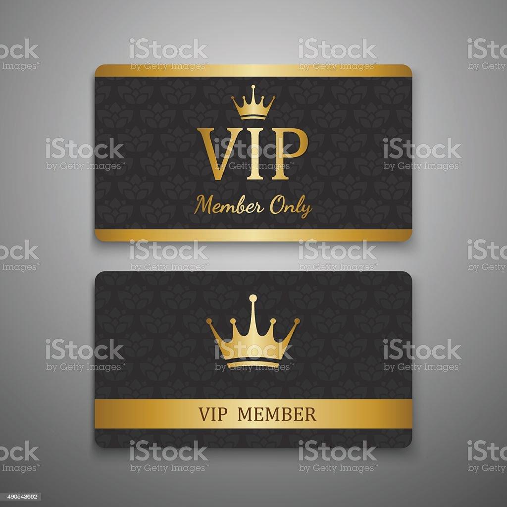 VIP card template,vector vector art illustration