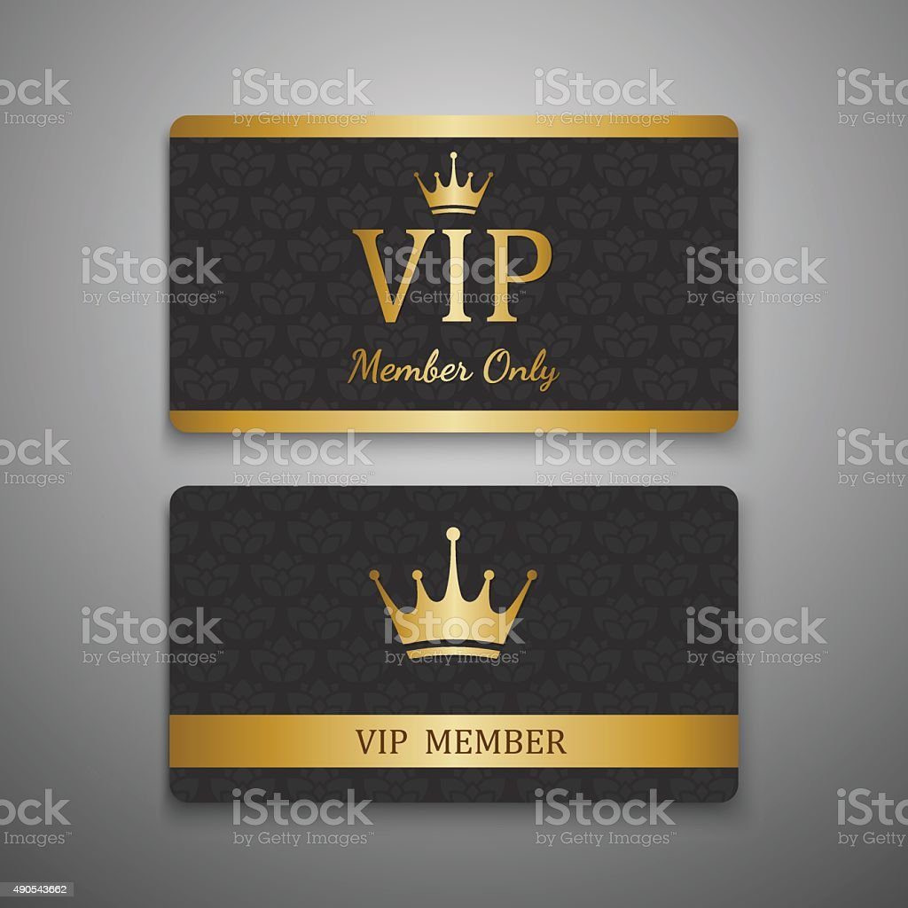 VIP card template,vector vector art illustration