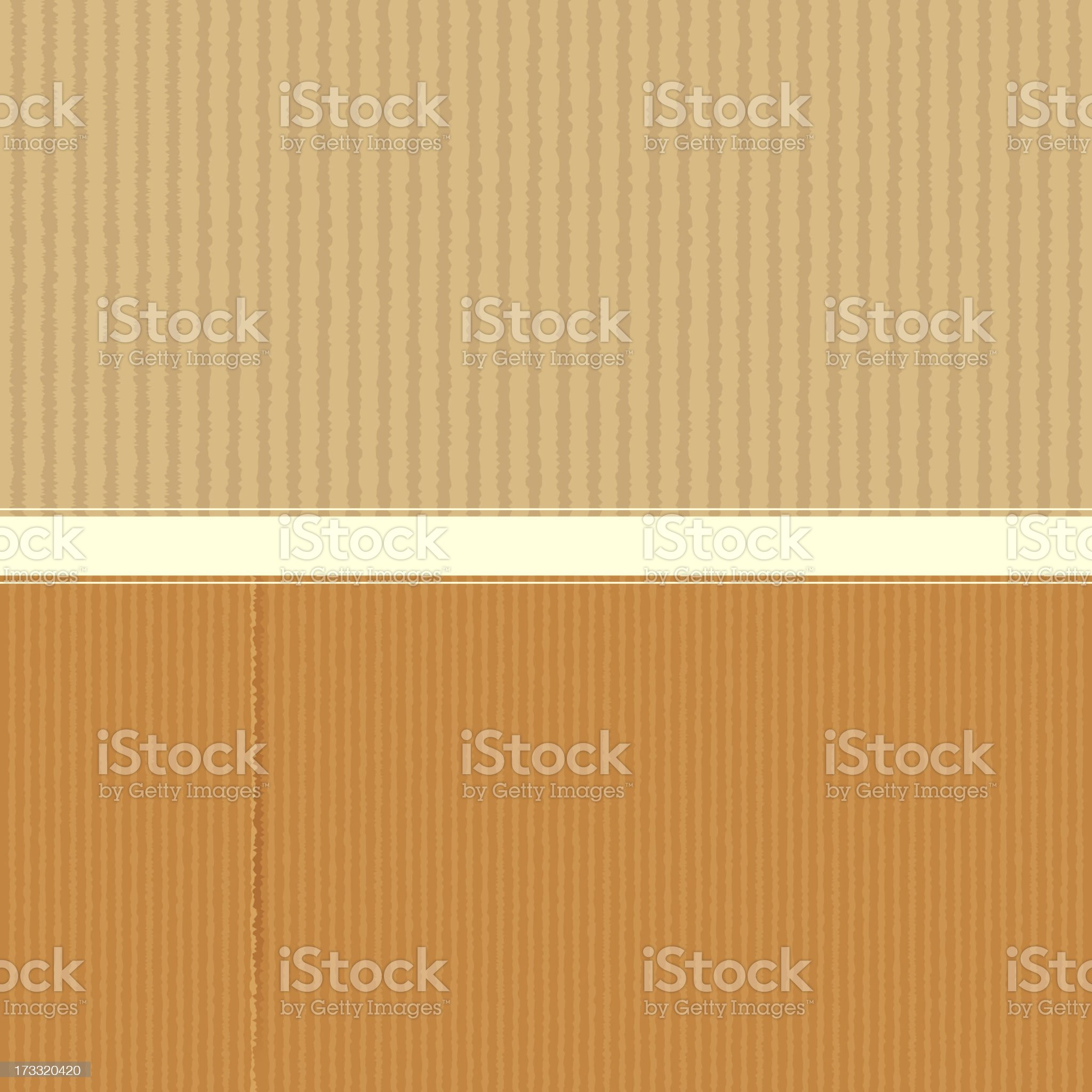 Cardboard Texture royalty-free stock vector art