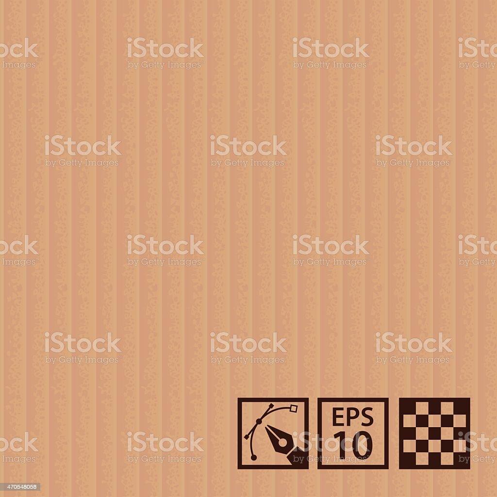 Cardboard texture vector art illustration