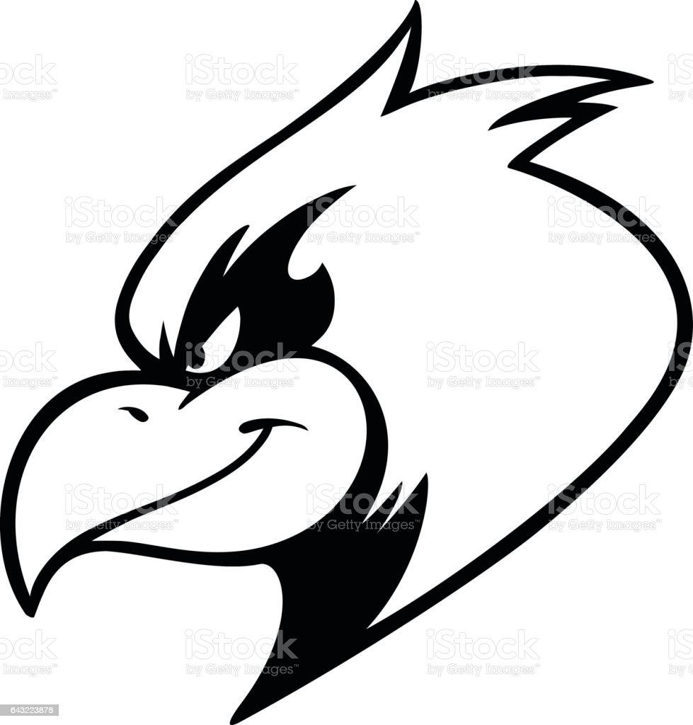 Cardinal Mascot Illustration vector art illustration