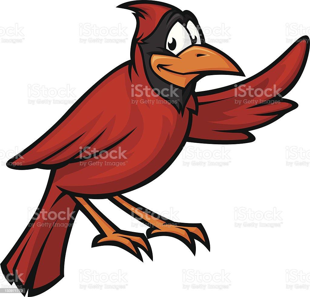 Cardinal royalty-free stock vector art