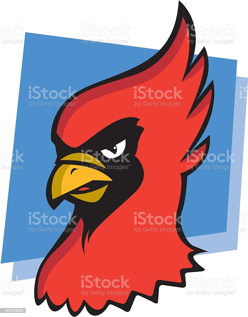 Cardinal royalty-free stock vector art