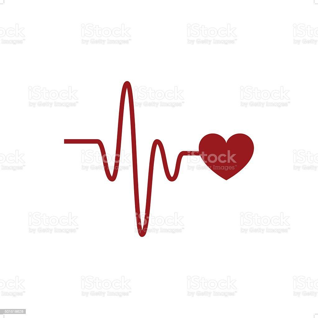 Cardio Link vector art illustration