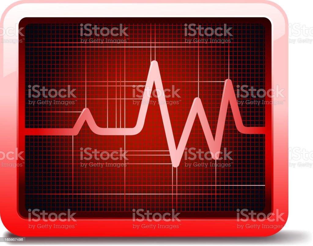cardiogram royalty-free stock vector art