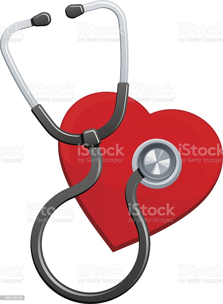 Cardiology icon royalty-free stock vector art