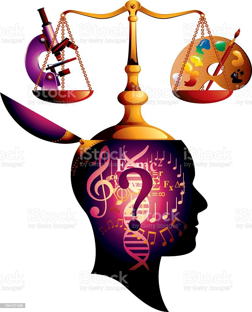 Career Decisions royalty-free stock vector art