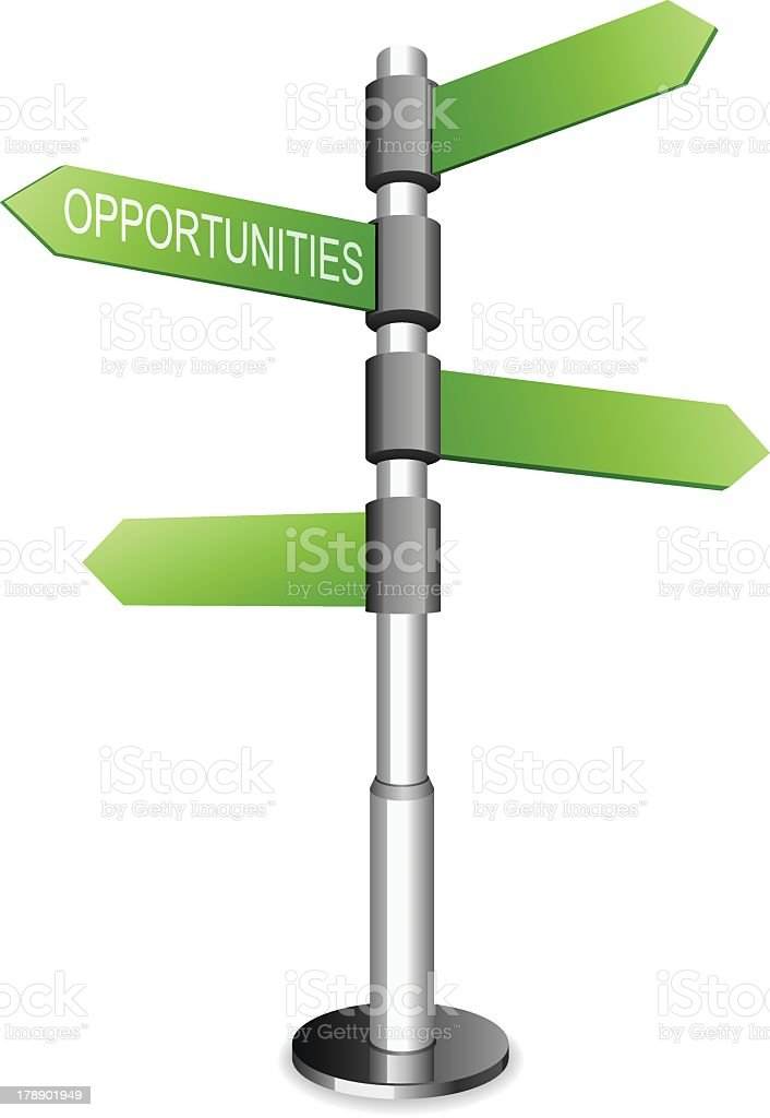 Career Opportunity royalty-free stock vector art