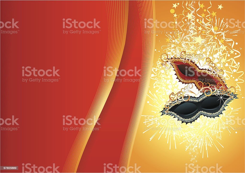 Carnival backdrop royalty-free stock vector art