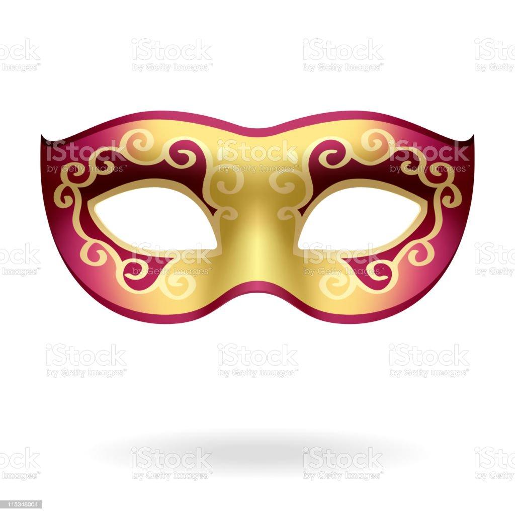Carnival Mask vector art illustration