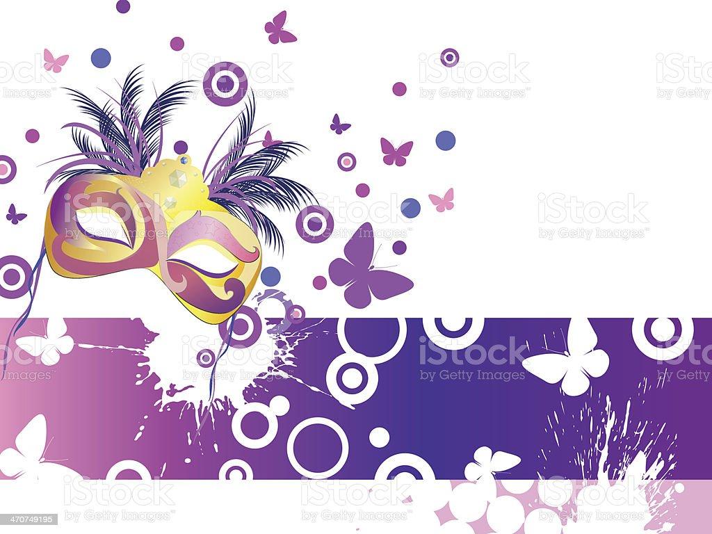 Carnival mask royalty-free stock vector art