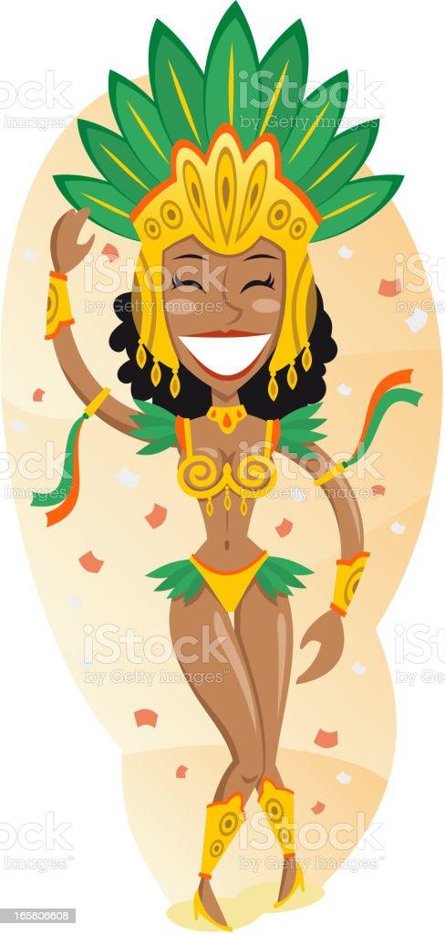 Carnival vector art illustration