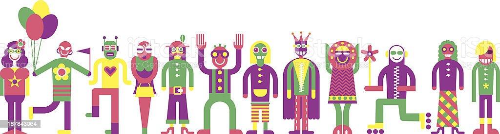 Carnival royalty-free stock vector art