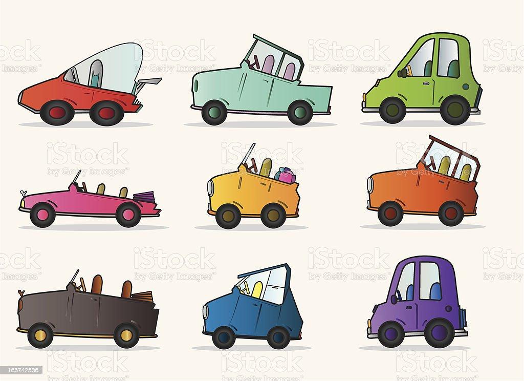 Cars royalty-free stock vector art