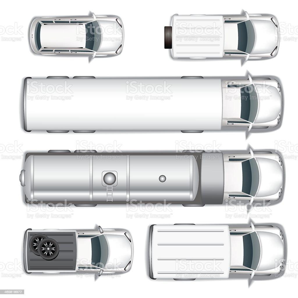 Cars vector art illustration