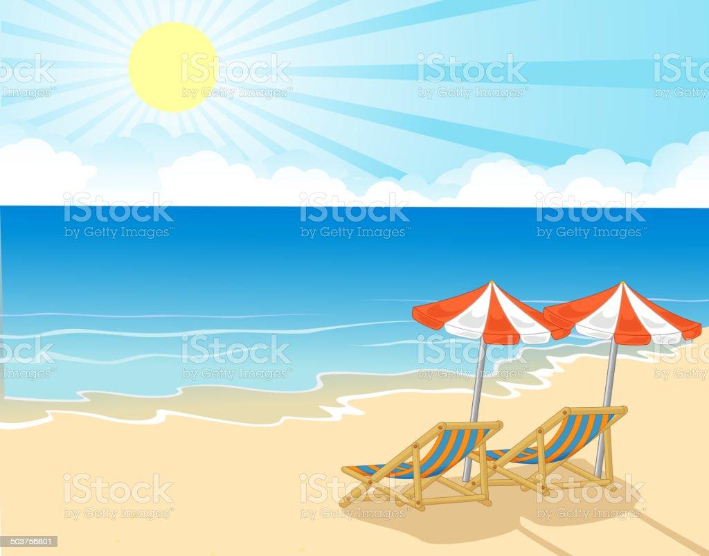 Sonnenschirm Strand Comic sdatec.com